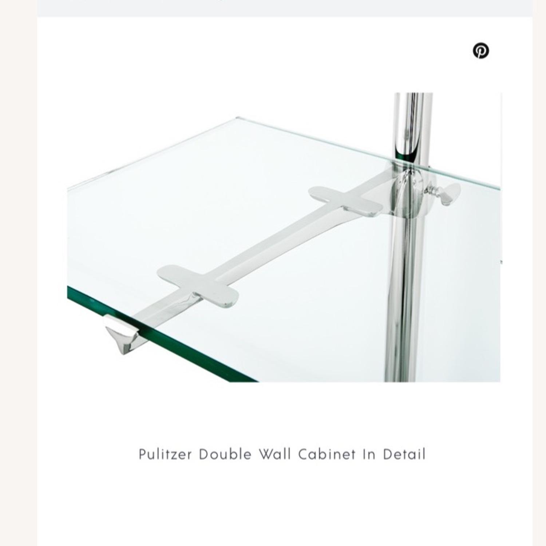 Eichholtz Pulitzer Double Cabinet in Nickel - image-5