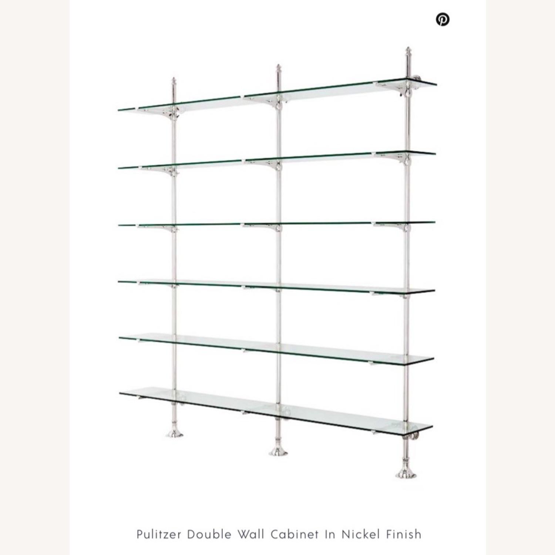 Eichholtz Pulitzer Double Cabinet in Nickel - image-2