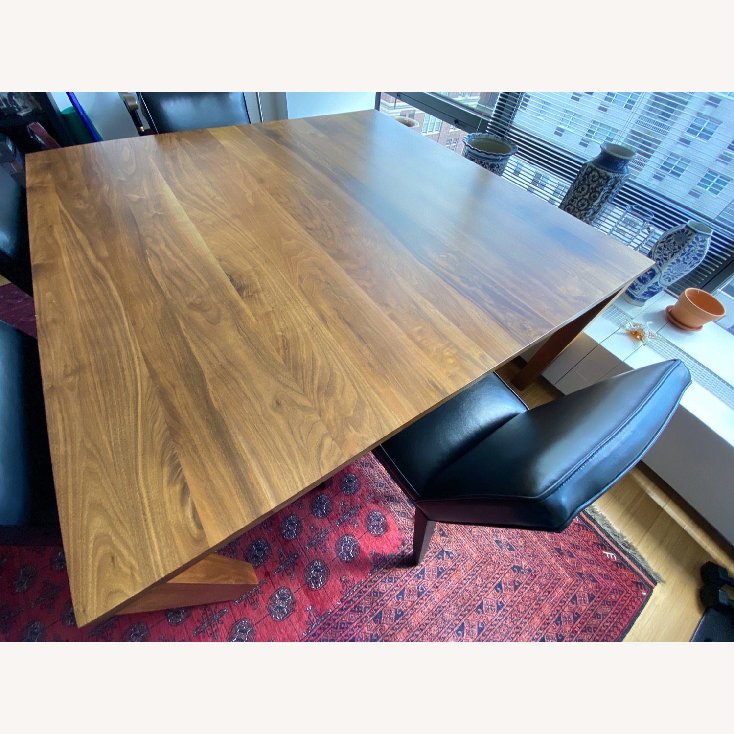 Room & Board Solid Walnut Dining Table - image-1