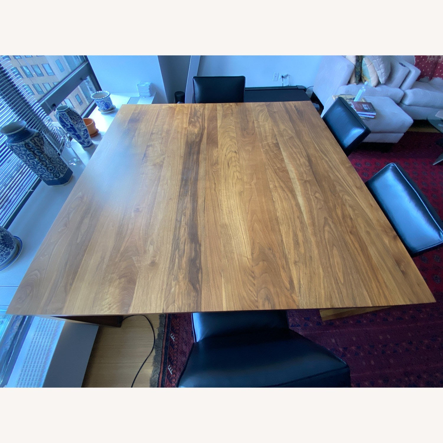 Room & Board Solid Walnut Dining Table - image-2