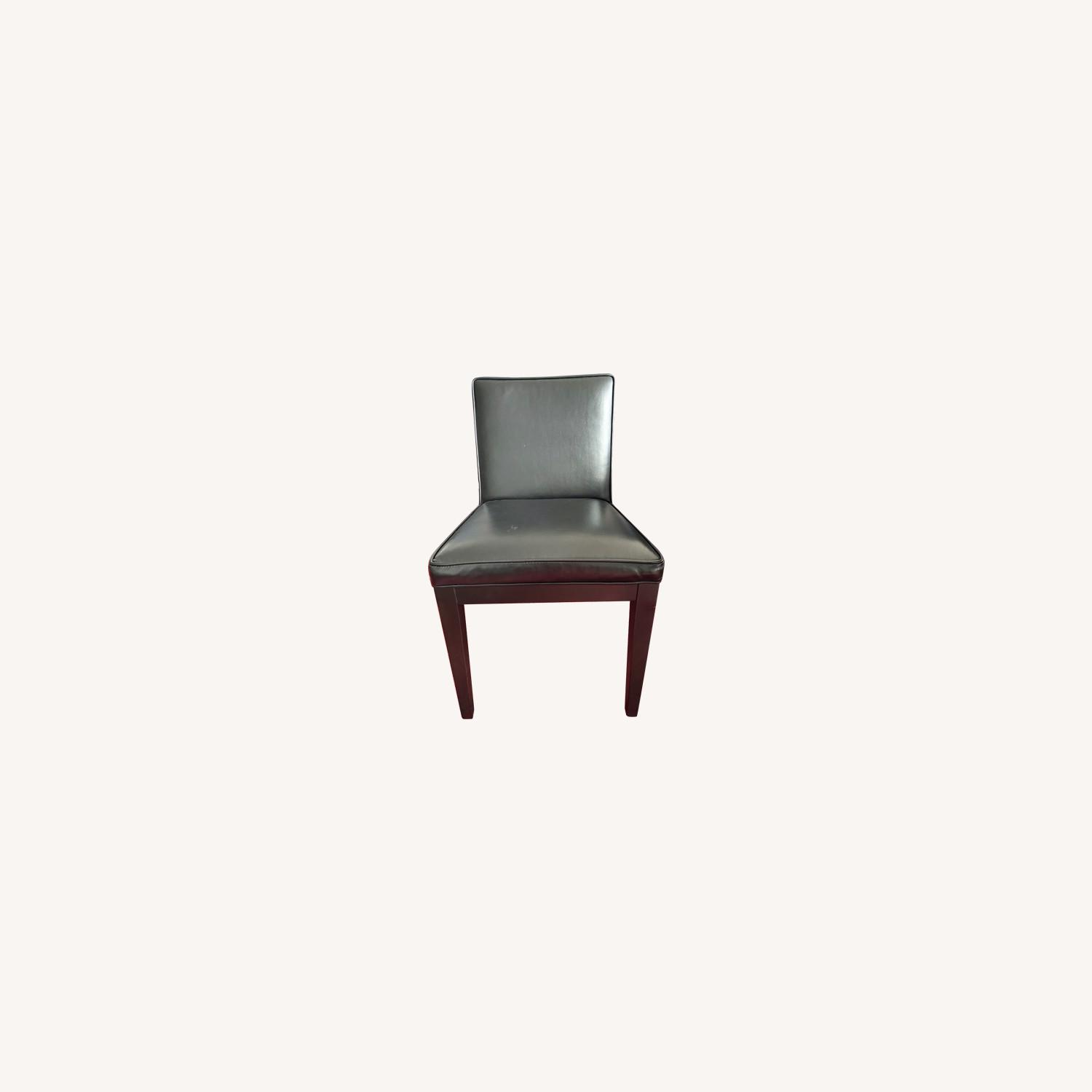 Room & Board Leather Dining Chairs (Set of 4) - image-0