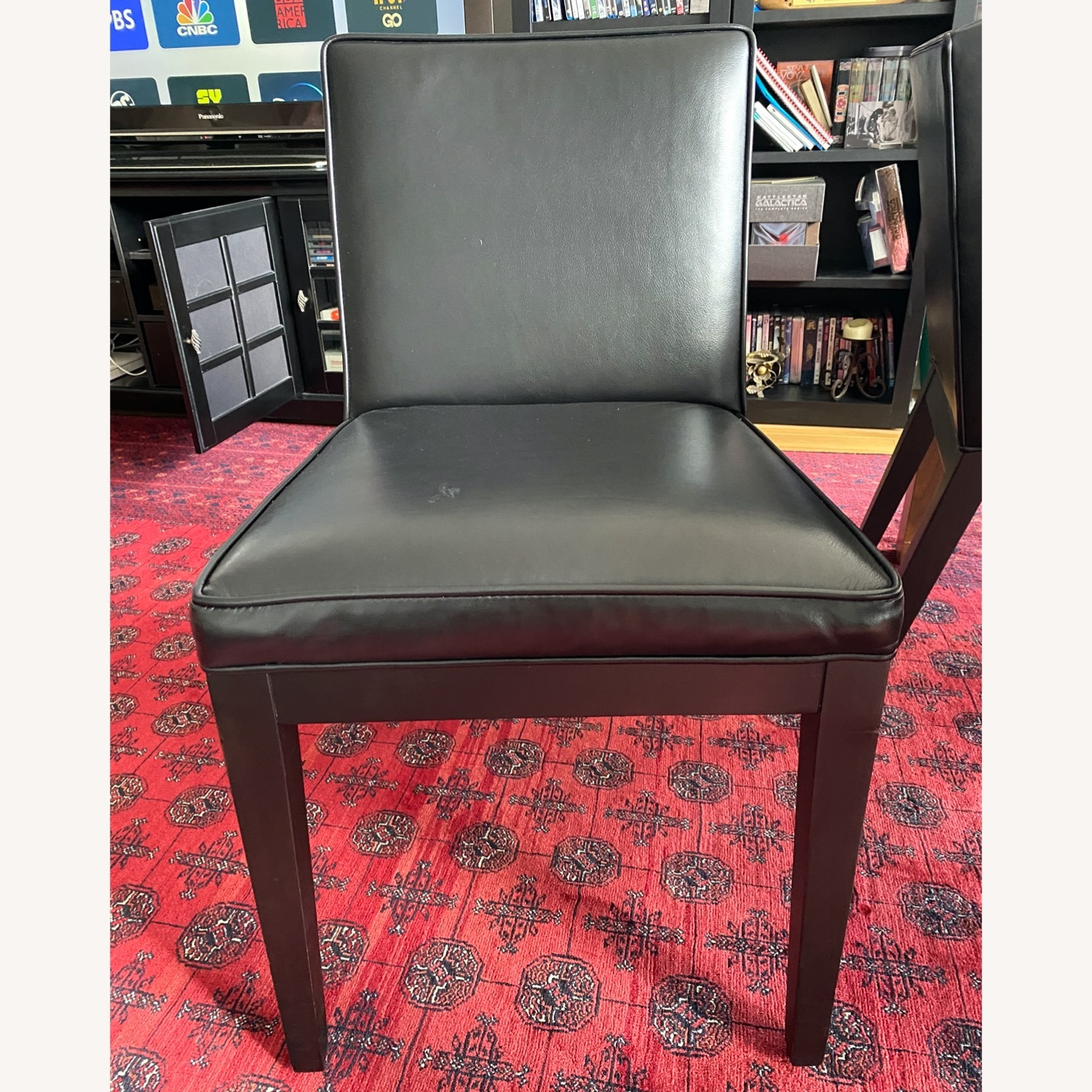 Room & Board Leather Dining Chairs (Set of 4) - image-3