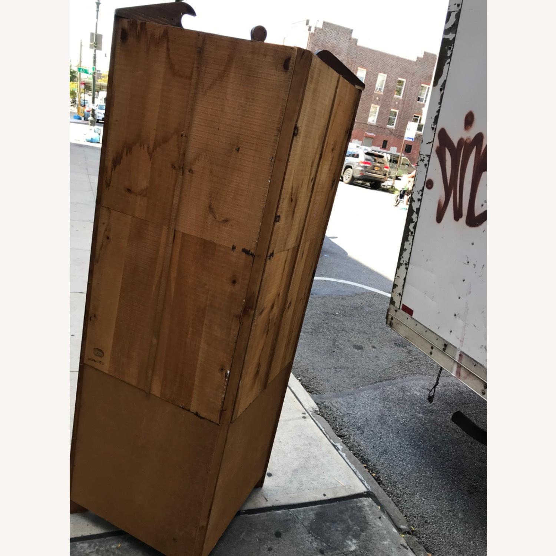 Mastercraft Vintage Pine Corner Cabinet Curio - image-21