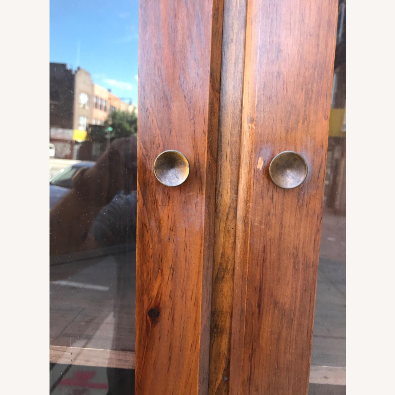 Mastercraft Vintage Pine Corner Cabinet Curio - image-12