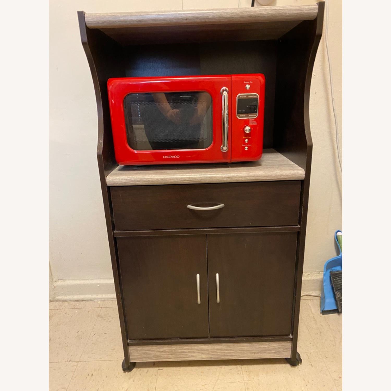 Wayfair Microwave Cart - image-1