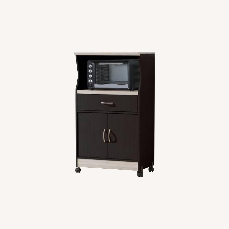 Wayfair Microwave Cart - image-0