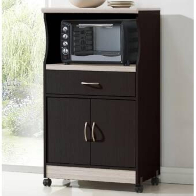 Wayfair Microwave Cart - image-3