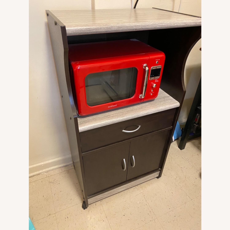 Wayfair Microwave Cart - image-2