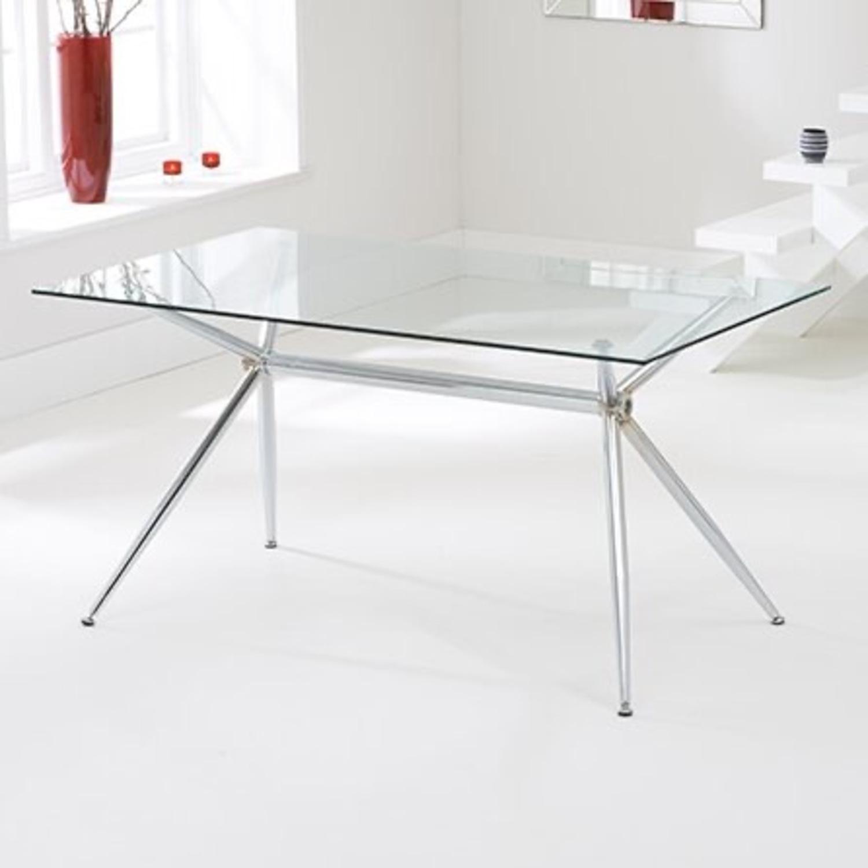 Wayfair Glass Dining Table - image-1