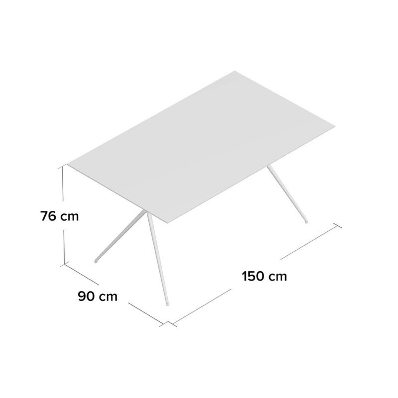 Wayfair Glass Dining Table - image-2