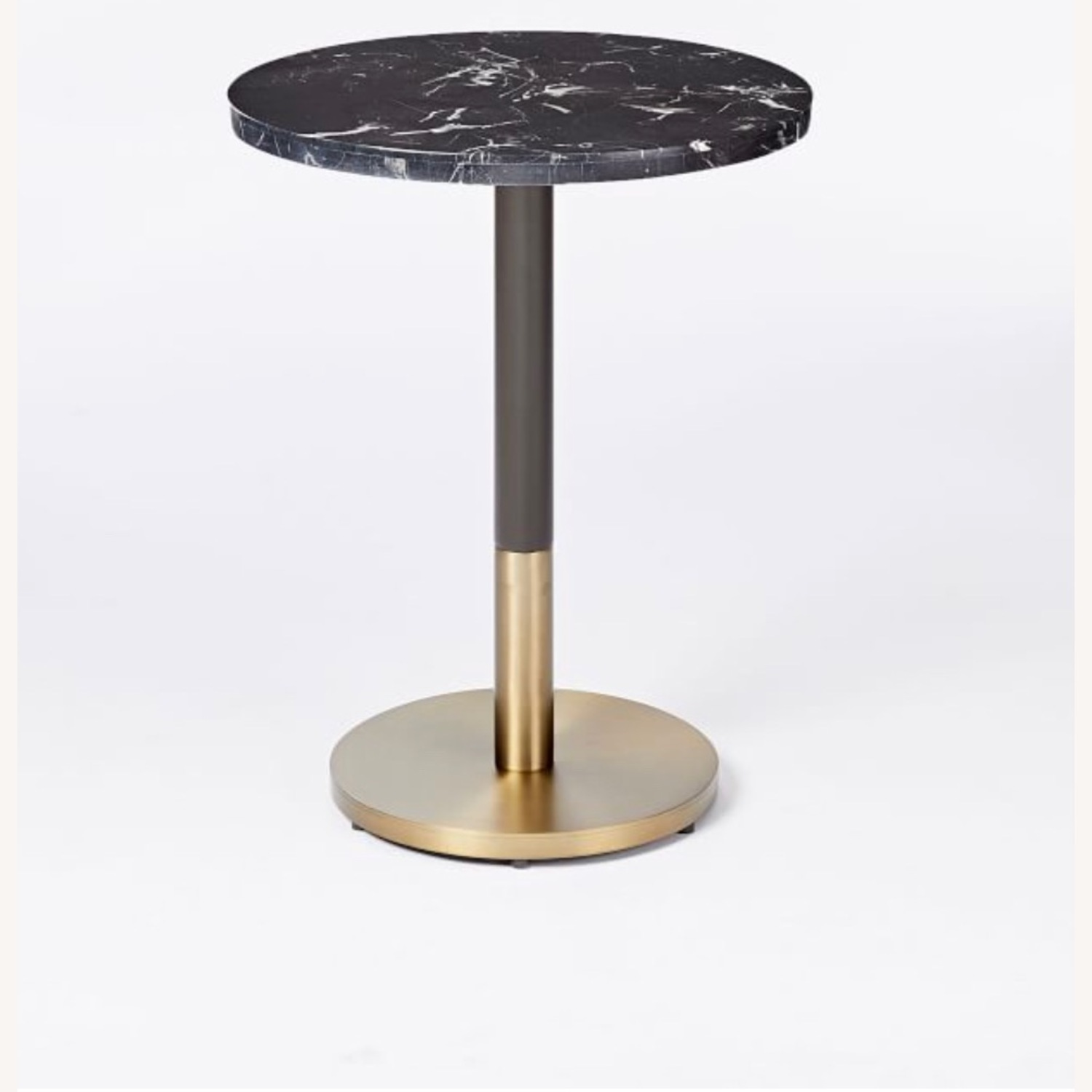West Elm Marble Small Dining Table - image-1