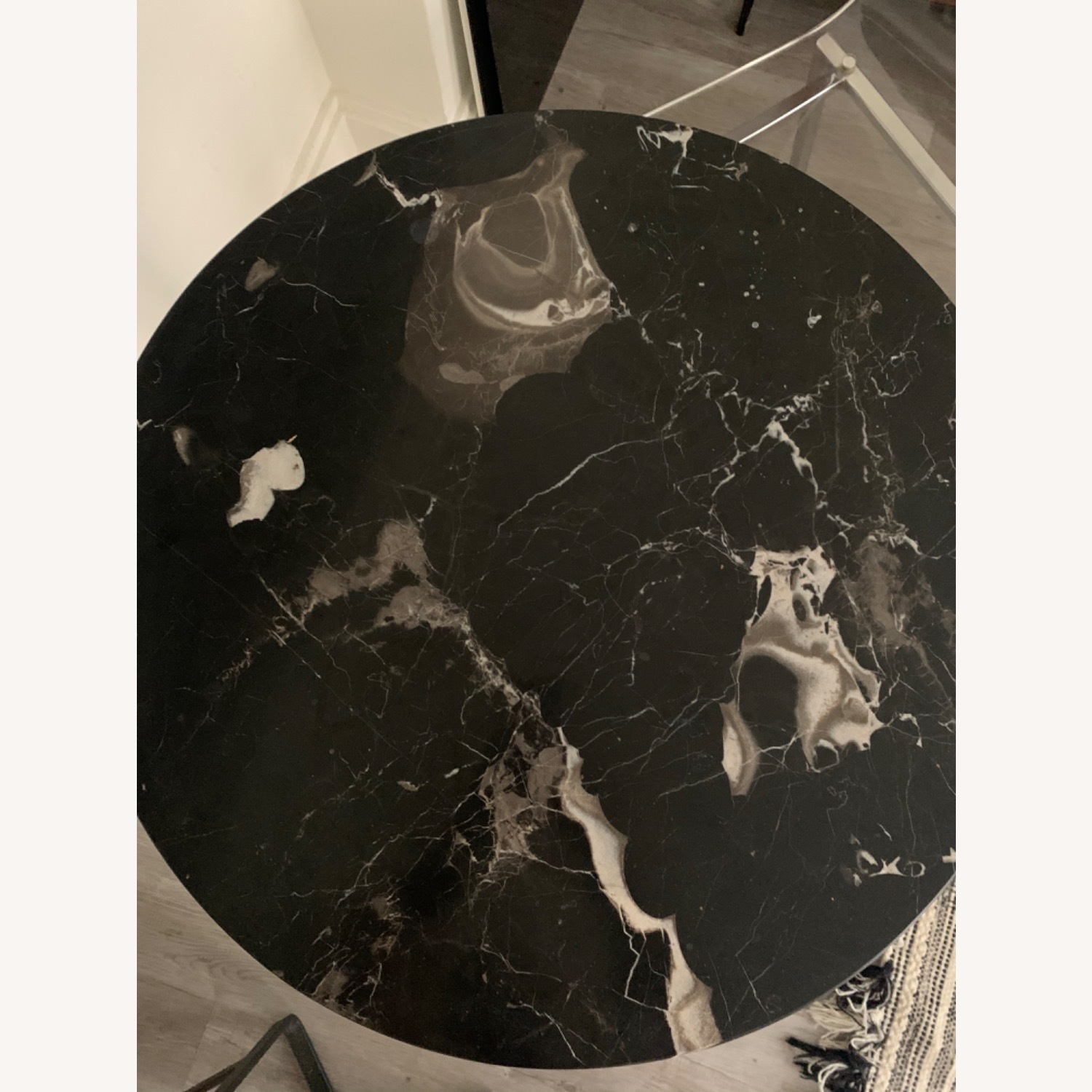 West Elm Marble Small Dining Table - image-3