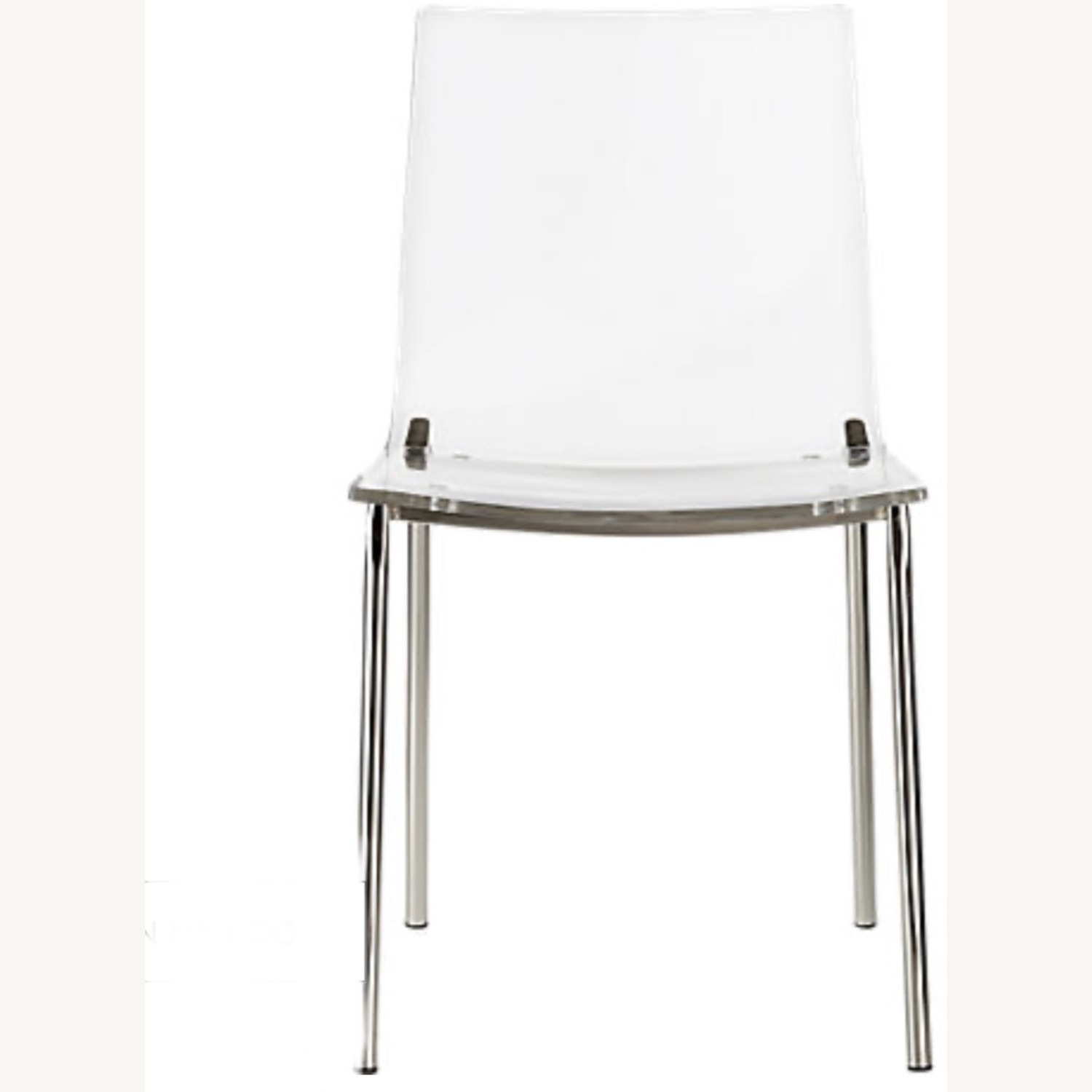 CB2 Clear Dining Chairs - image-1