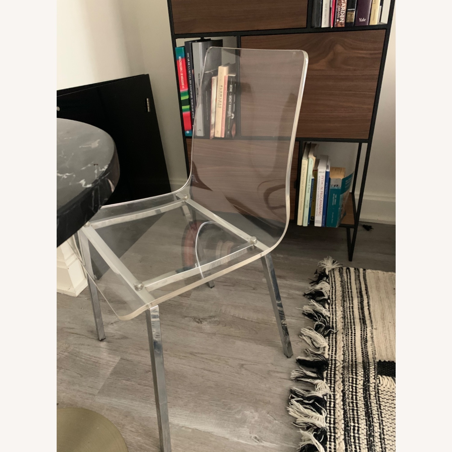 CB2 Clear Dining Chairs - image-2