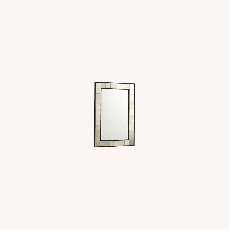 West Elm Antique Style Mirror - image-0