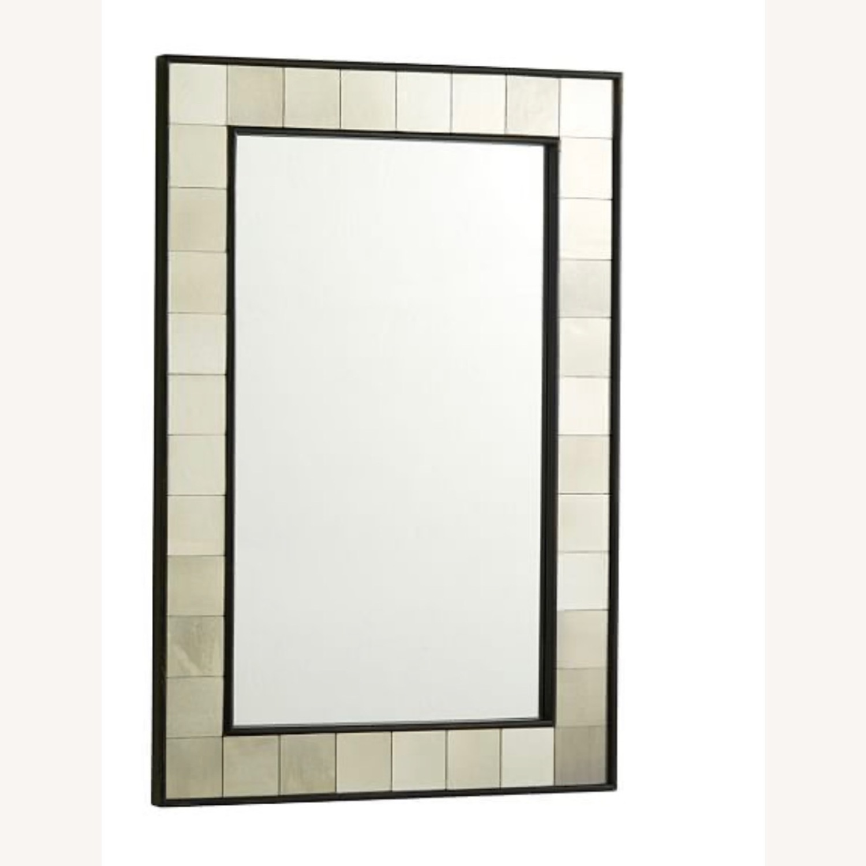 West Elm Antique Style Mirror - image-1