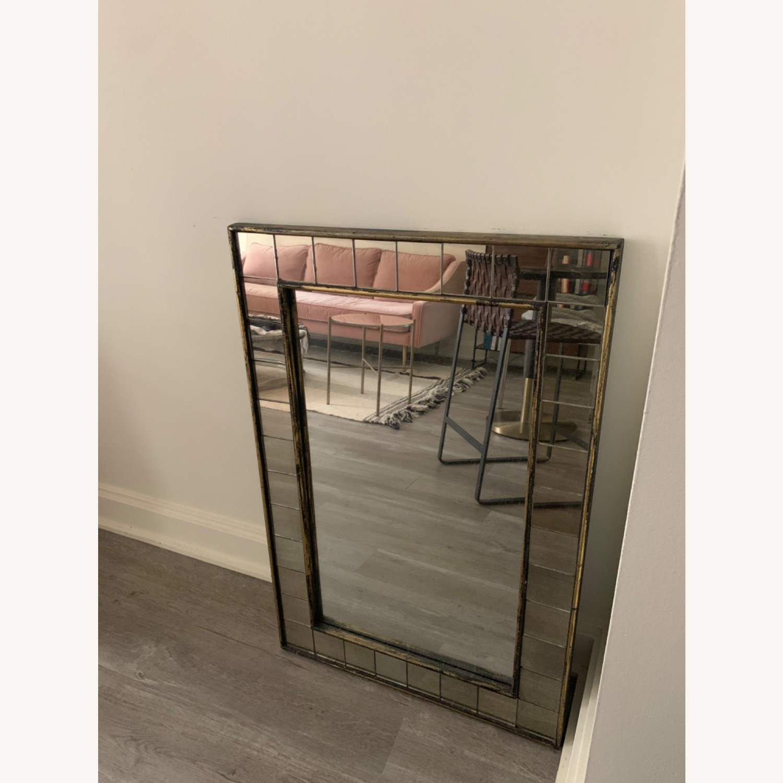 West Elm Antique Style Mirror - image-3