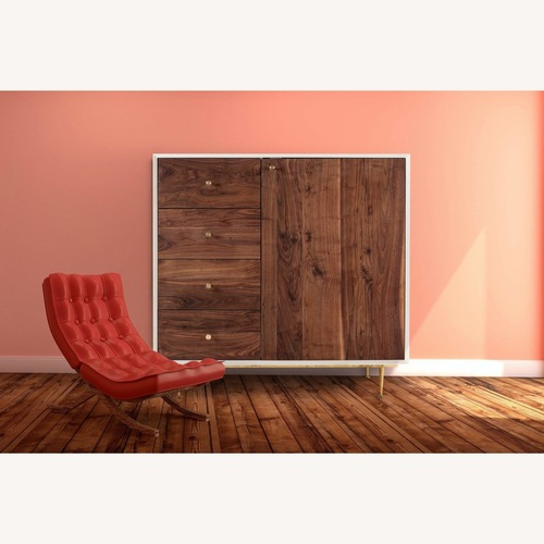Used Organic Moderism Wooden Dresser for sale on AptDeco