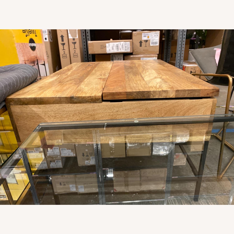 West Elm Industrial Pop-up Coffee Table - image-12