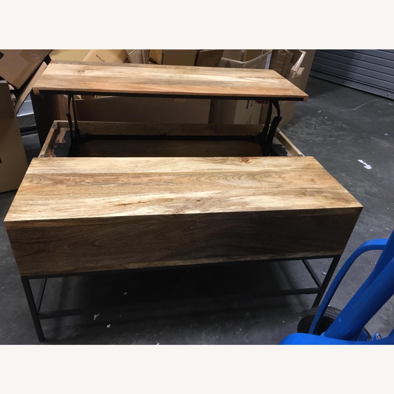 West Elm Industrial Pop-up Coffee Table - image-6