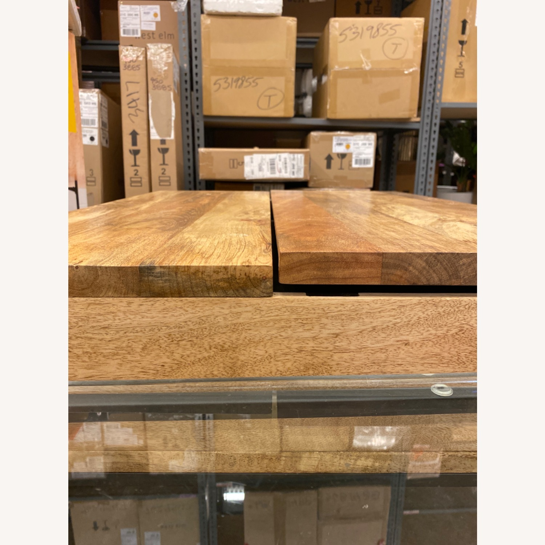 West Elm Industrial Pop-up Coffee Table - image-11