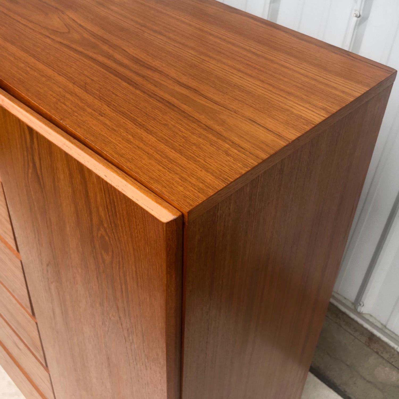 Scandinavian Modern Teak Dresser or Armoire - image-13