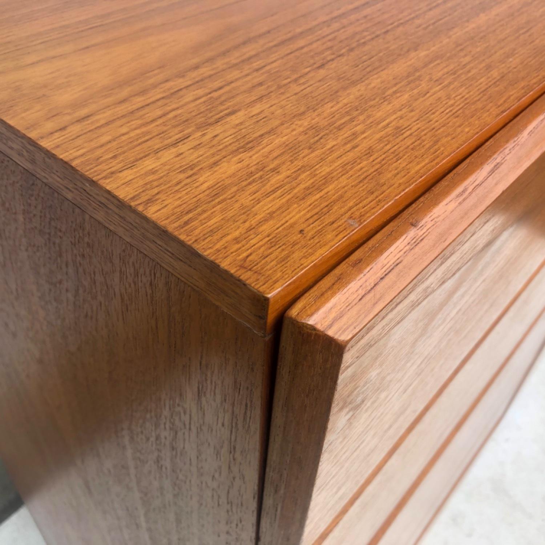Scandinavian Modern Teak Dresser or Armoire - image-8