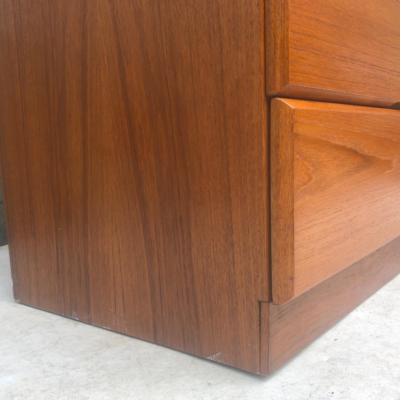 Scandinavian Modern Teak Dresser or Armoire - image-6