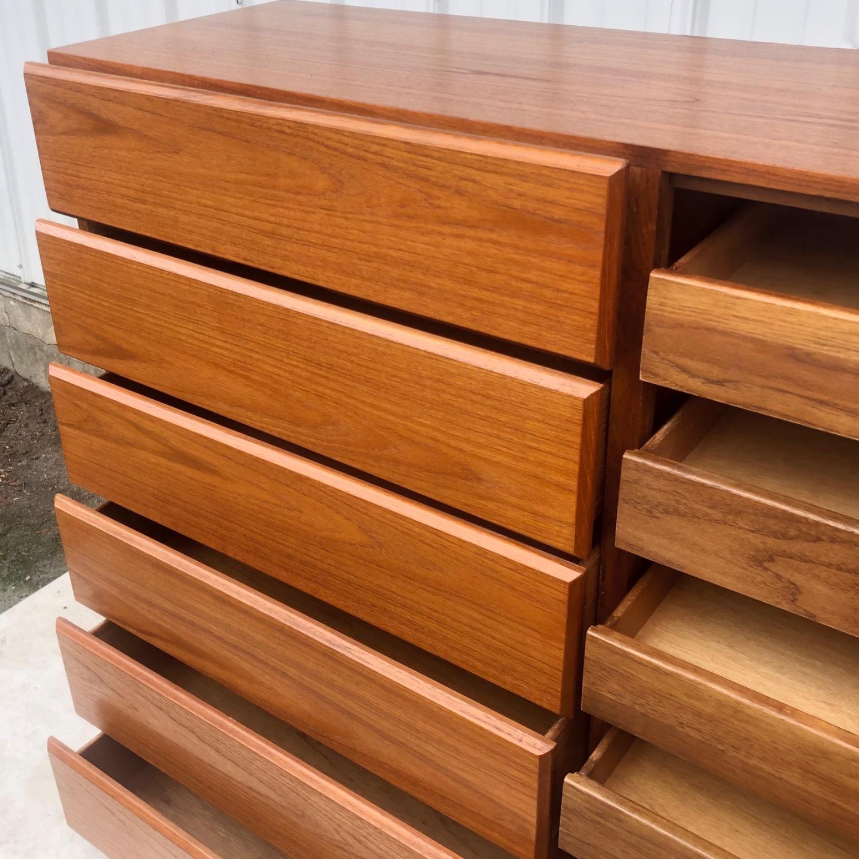 Scandinavian Modern Teak Dresser or Armoire - image-21