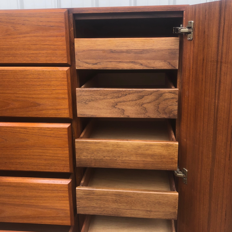 Scandinavian Modern Teak Dresser or Armoire - image-20