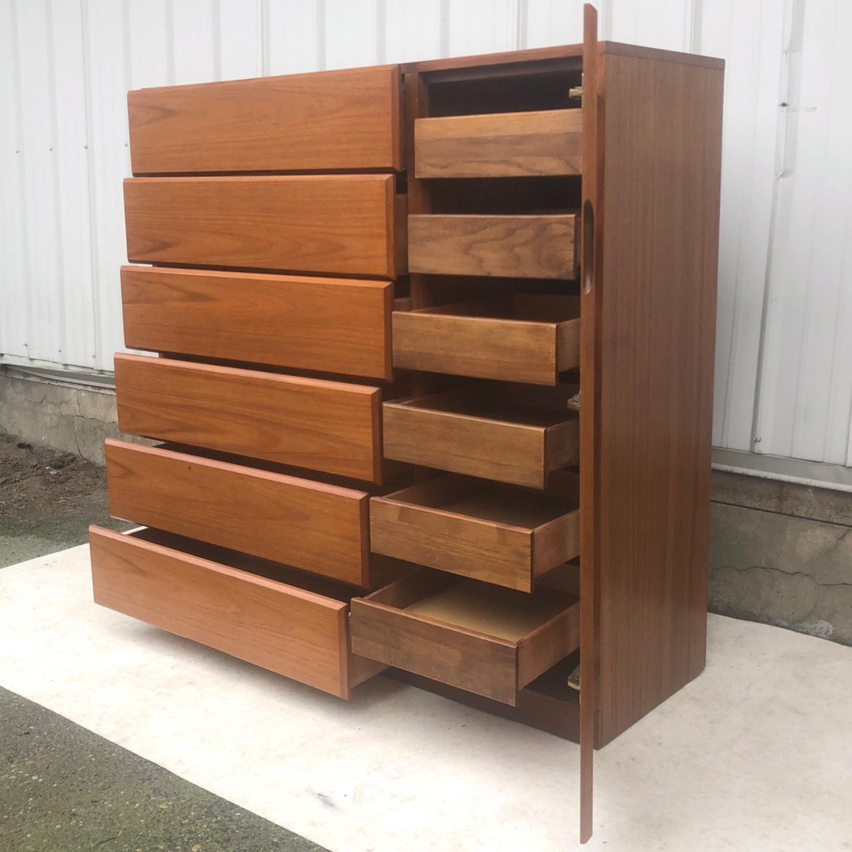 Scandinavian Modern Teak Dresser or Armoire - image-4