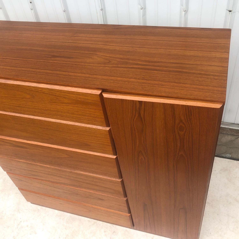 Scandinavian Modern Teak Dresser or Armoire - image-10
