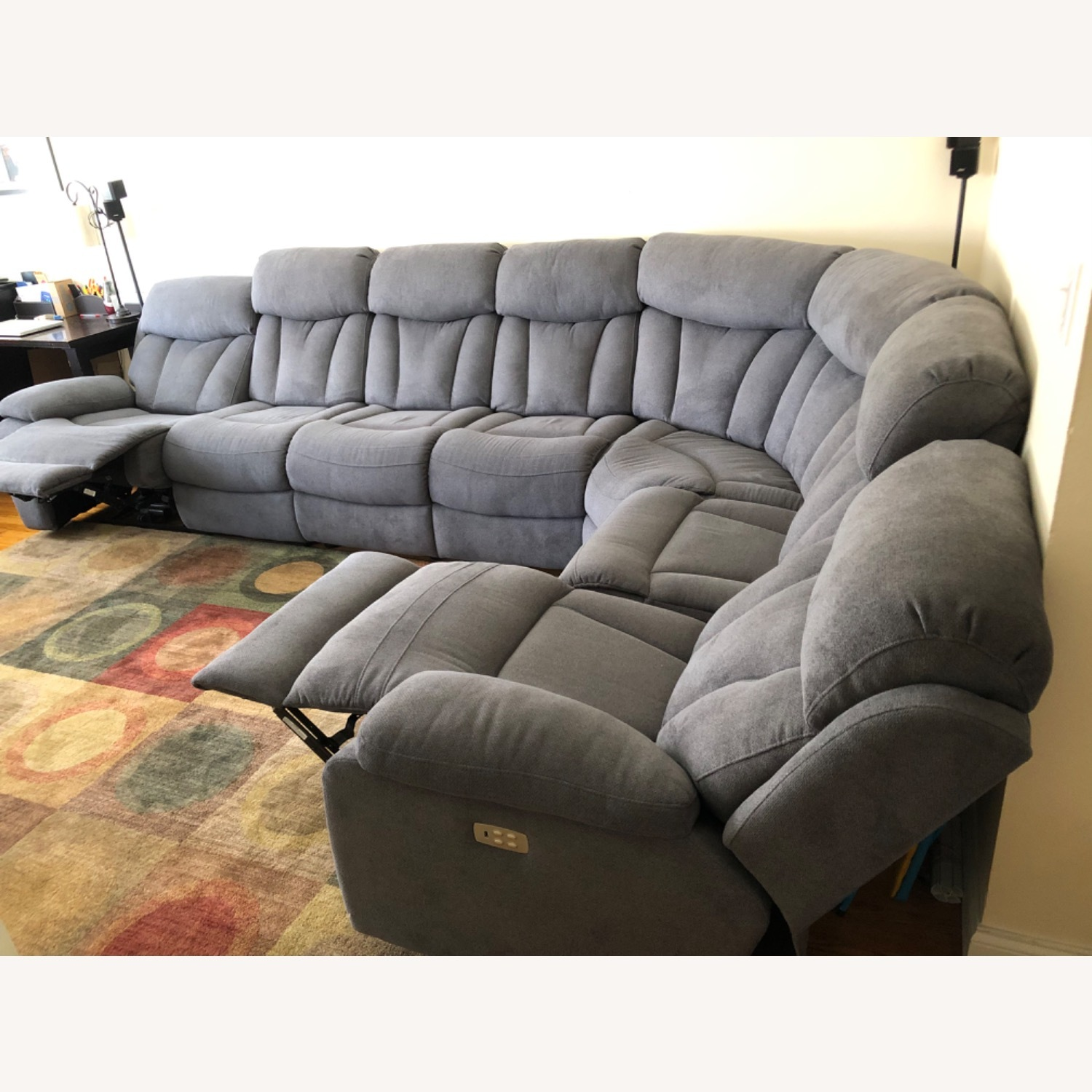 Raymour & Flanigan Connell Power Recliner Sectional - image-2