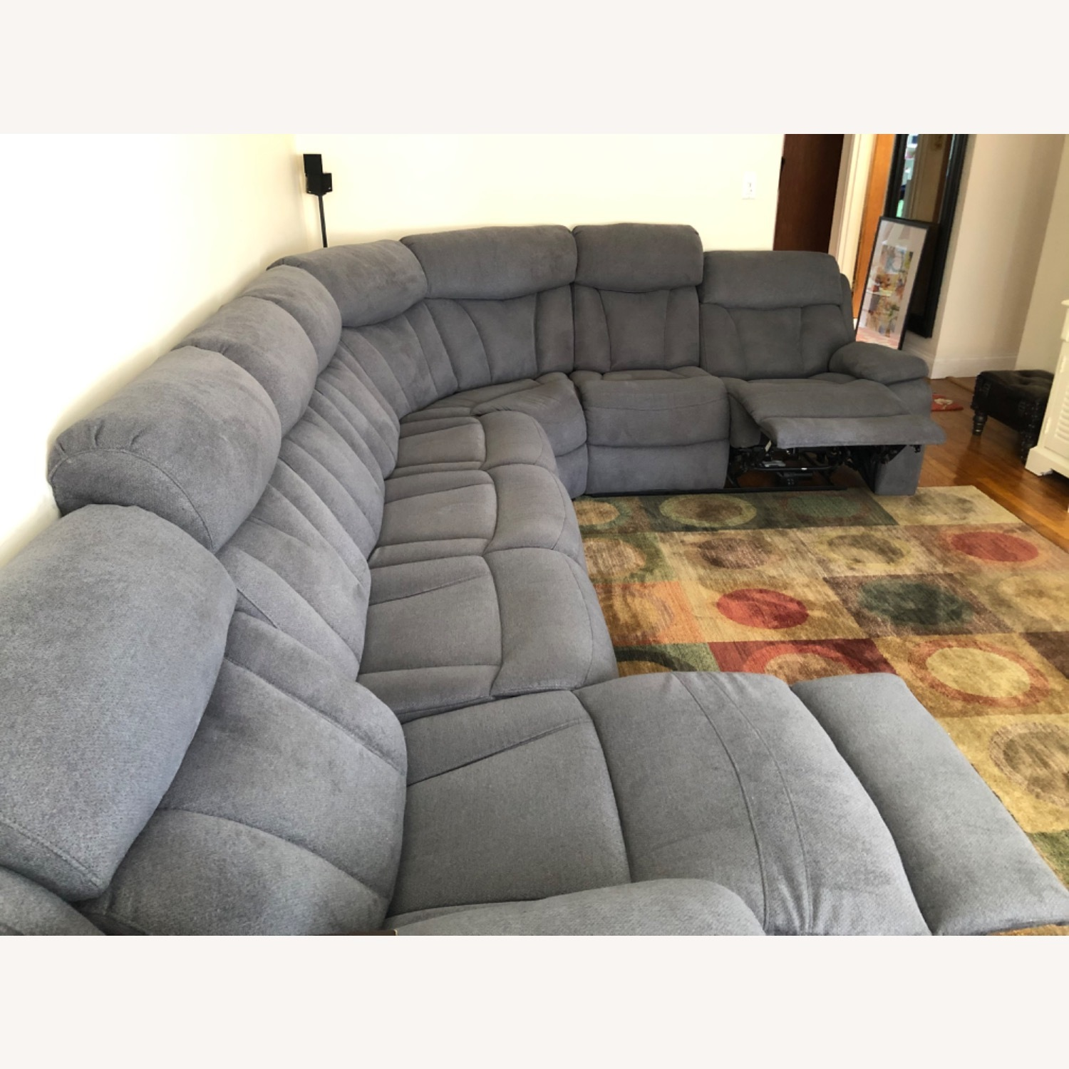 Raymour & Flanigan Connell Power Recliner Sectional - image-6