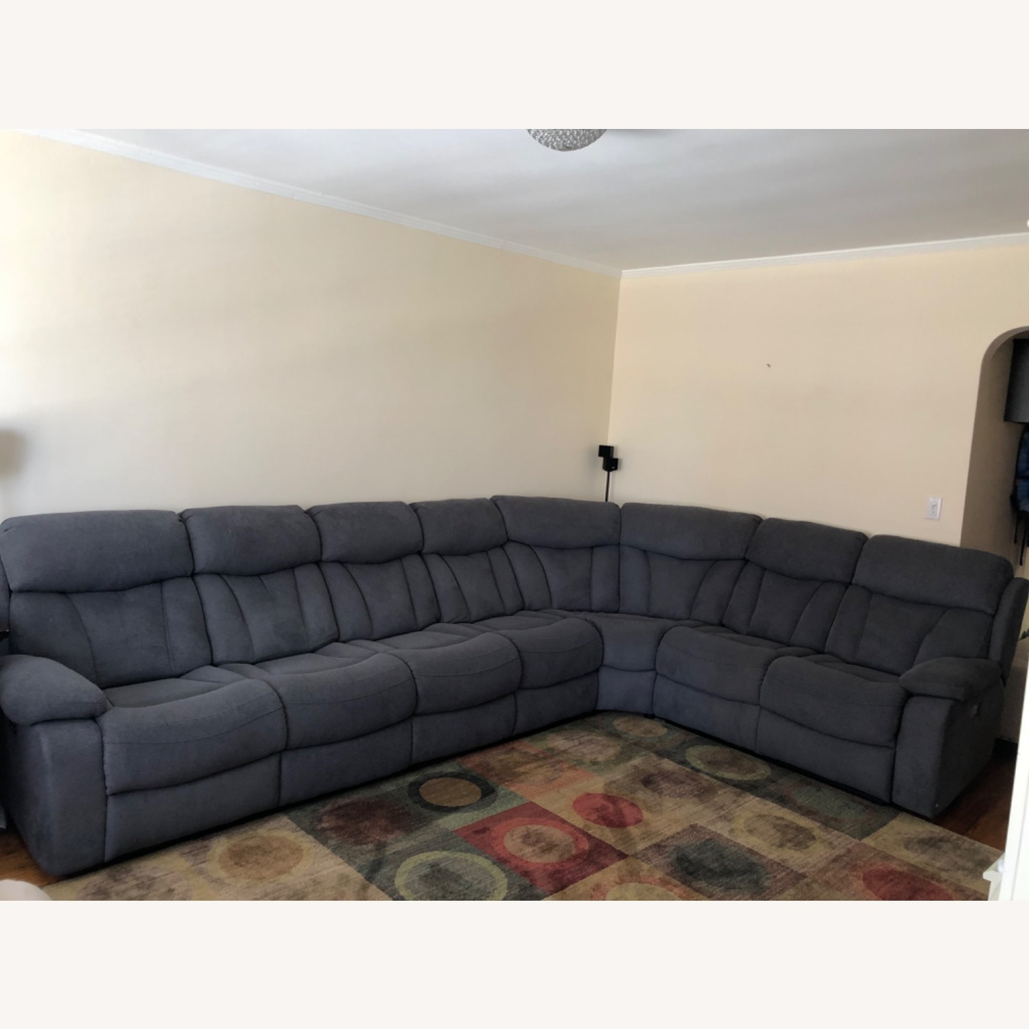 Raymour & Flanigan Connell Power Recliner Sectional - image-1