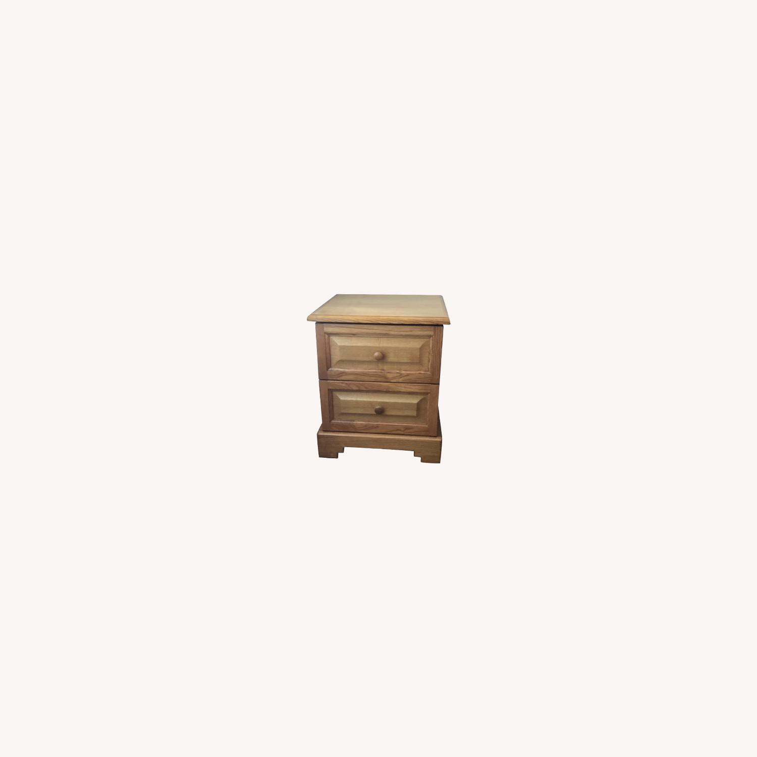 Gothic Cabinet Nightstand - image-0