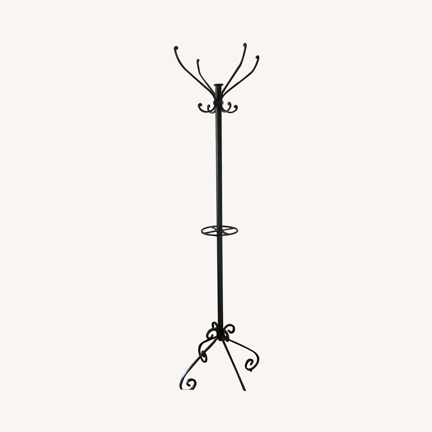 Pier 1 Import Wrought Iron Coat Rack - image-0