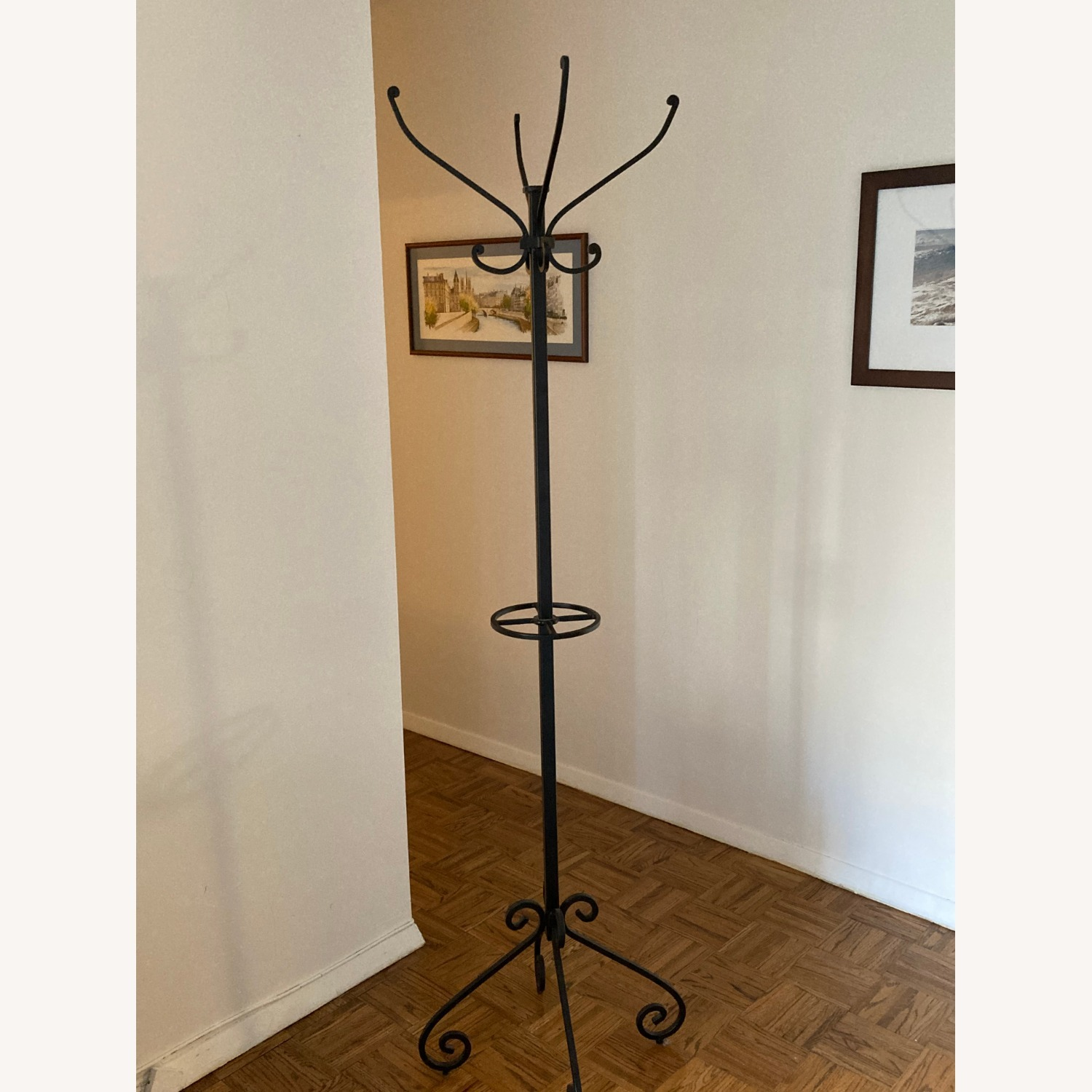 Pier 1 Import Wrought Iron Coat Rack - image-2