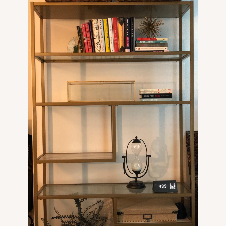 Wayfair Geometric Bookshelf - image-3