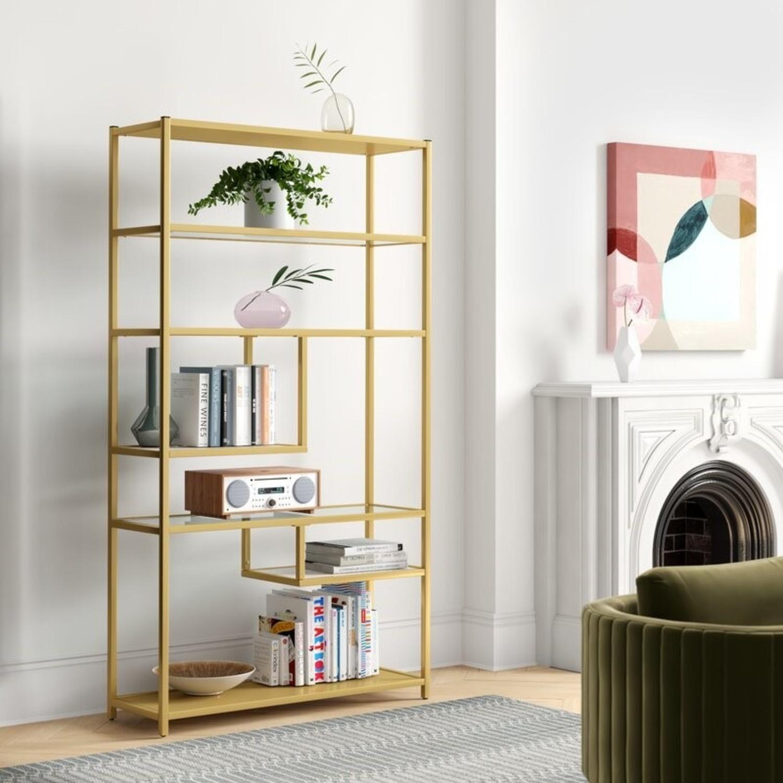Wayfair Geometric Bookshelf - image-0
