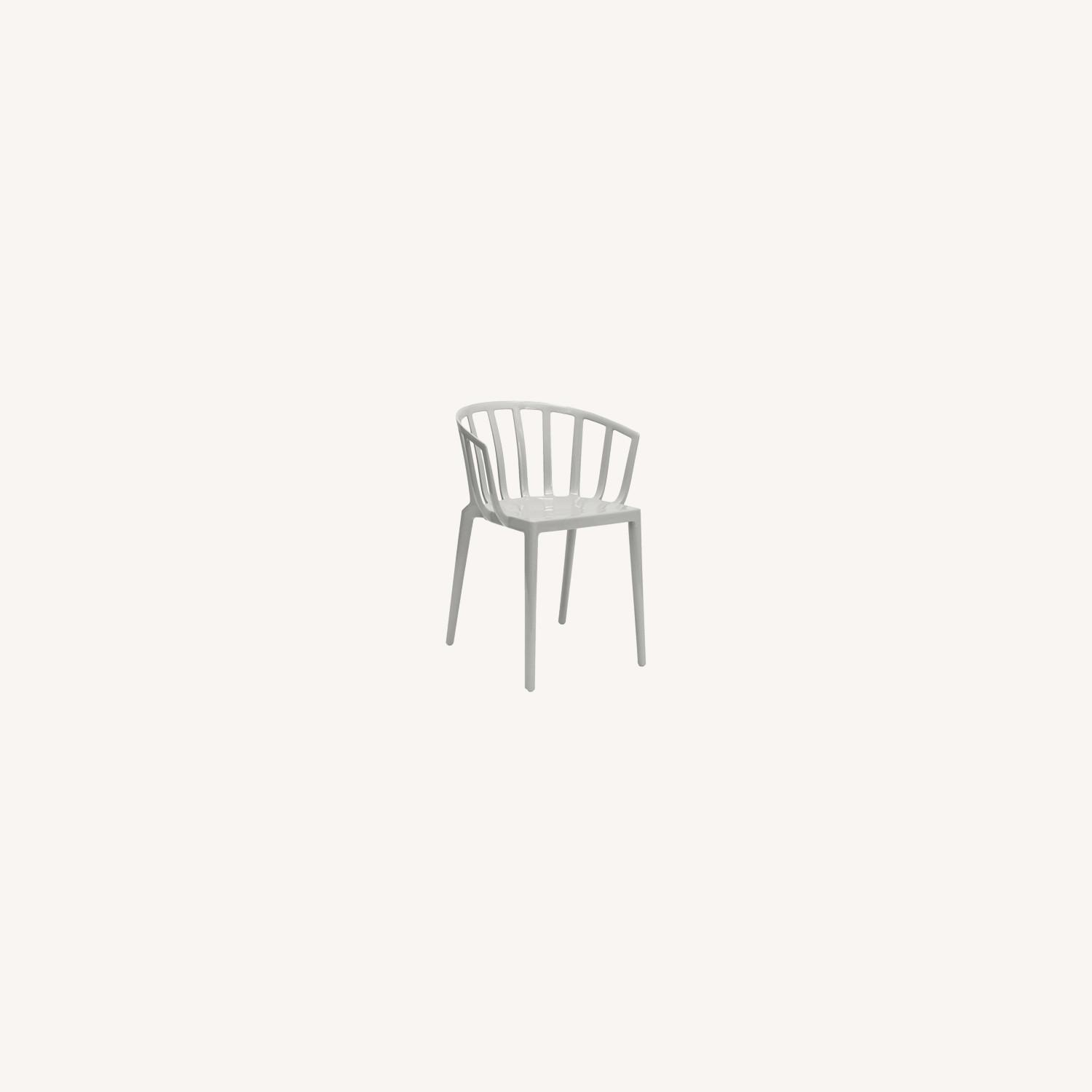 KARTELL Venice Chairs in Dove Gray Set of Two - image-0