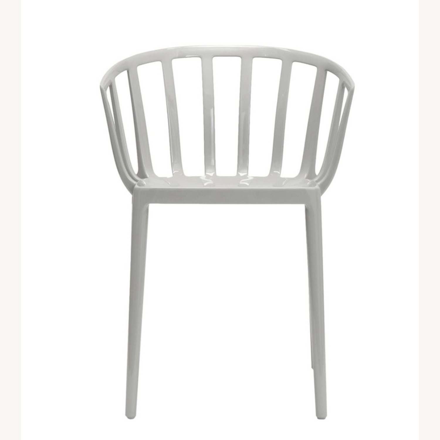 KARTELL Venice Chairs in Dove Gray Set of Two - image-2