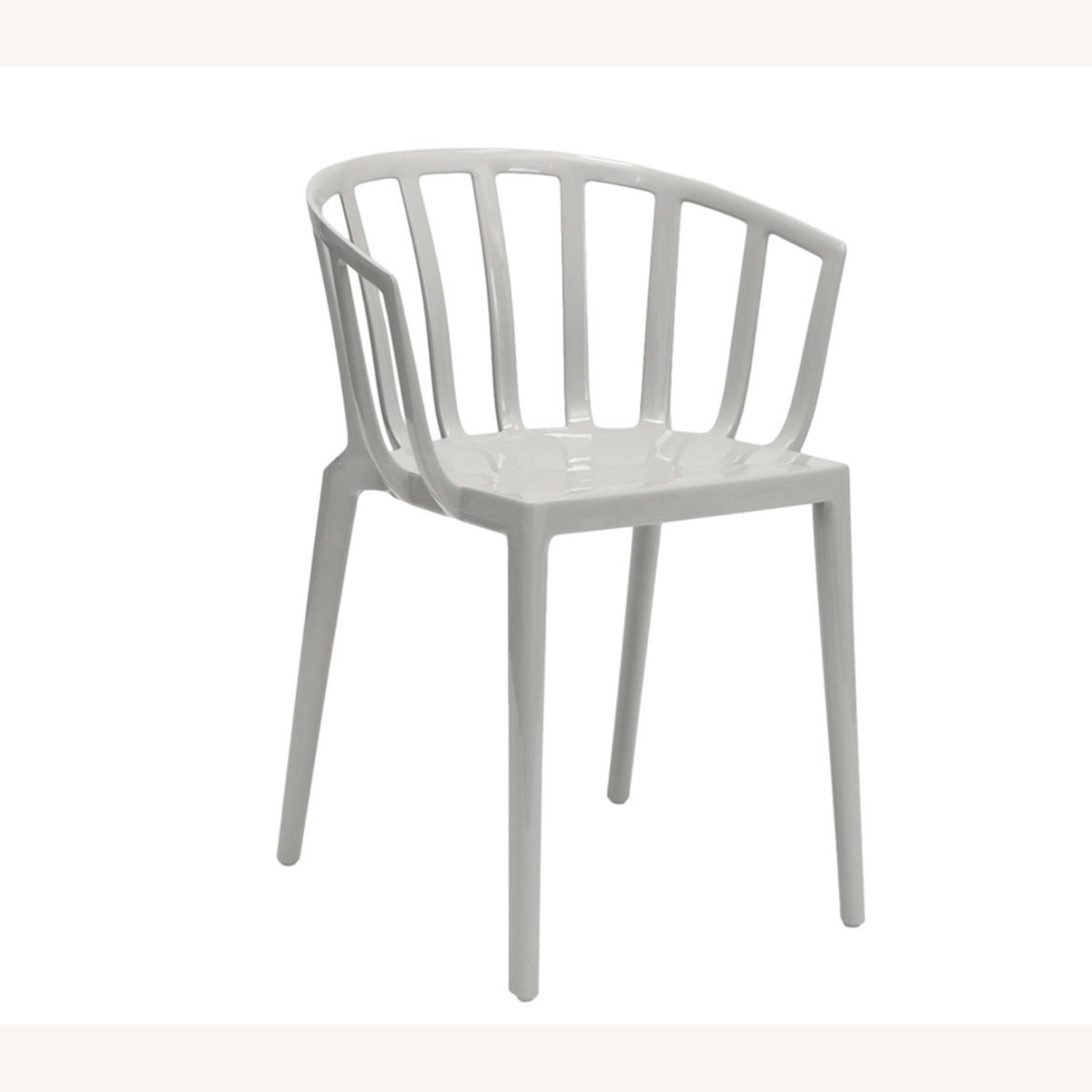 KARTELL Venice Chairs in Dove Gray Set of Two - image-1