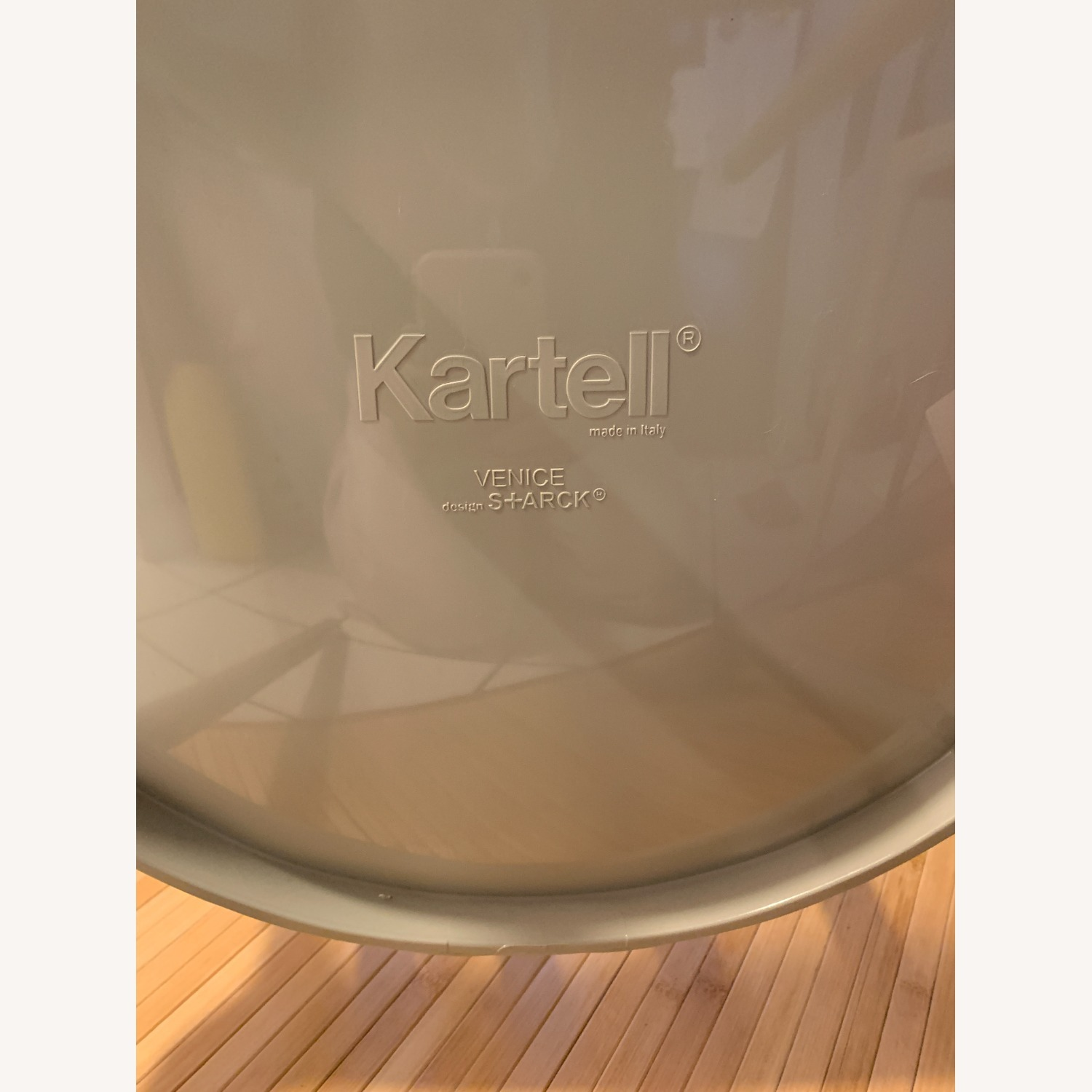 KARTELL Venice Chairs in Dove Gray Set of Two - image-8