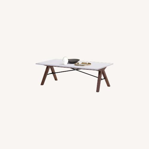 Used Urban Outfitters Saints White Coffee Table for sale on AptDeco