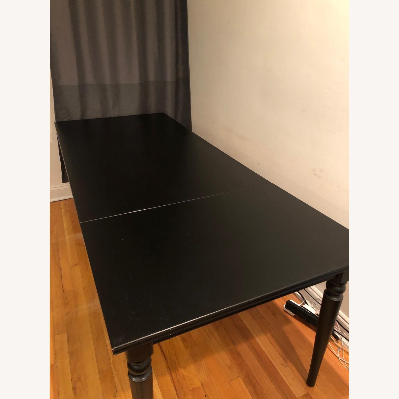 IKEA INGATORP Extendable Table - image-2