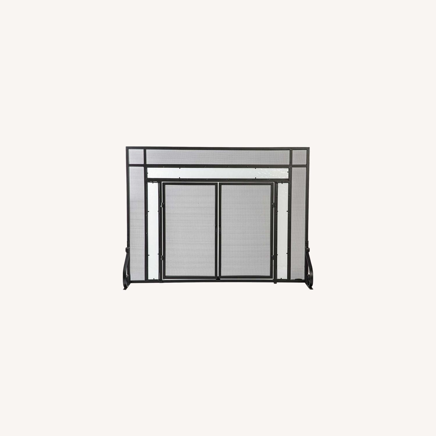 Plow & Hearth Fireplace Screen - image-0