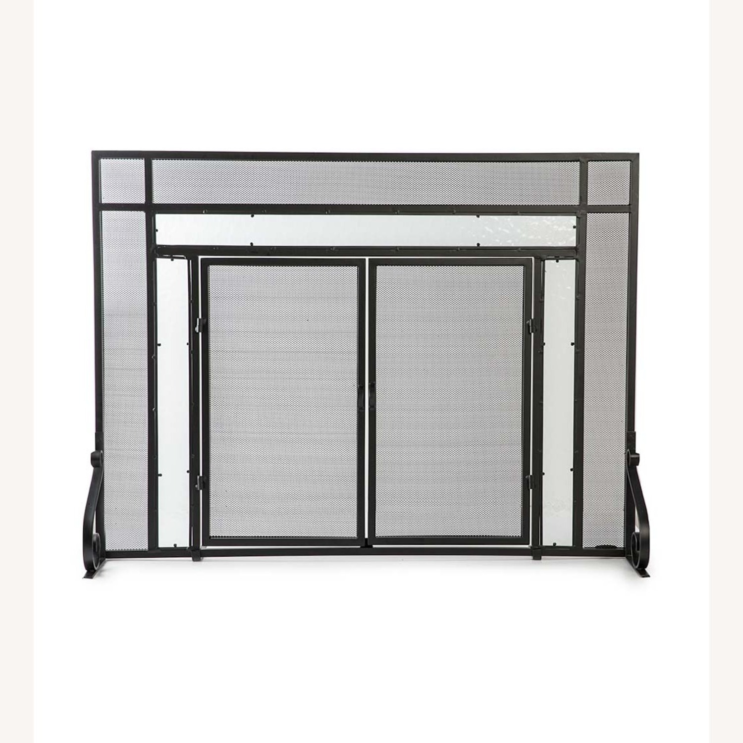 Plow & Hearth Fireplace Screen - image-4