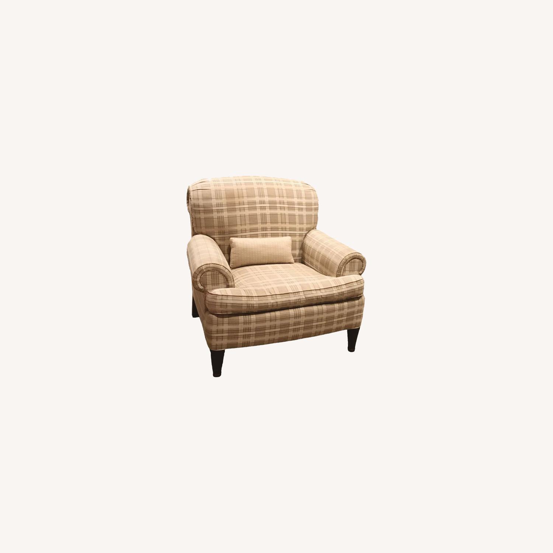 Ralph Lauren x Henredon Upholstered Lounge Chairs - image-0