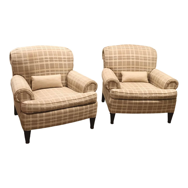 Ralph Lauren x Henredon Upholstered Lounge Chairs - image-5